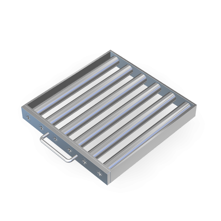 Magnetic Filter L300mmXW300mmXH40mm Frame/Sheath/Drawer