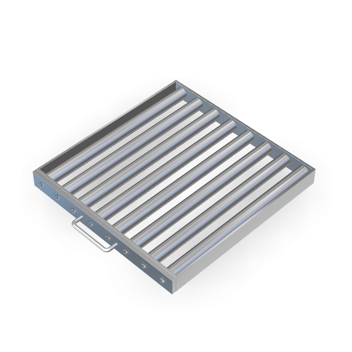 Magnetic Filter L400mmXW400mmXH40mm Frame/Sheath/Drawer