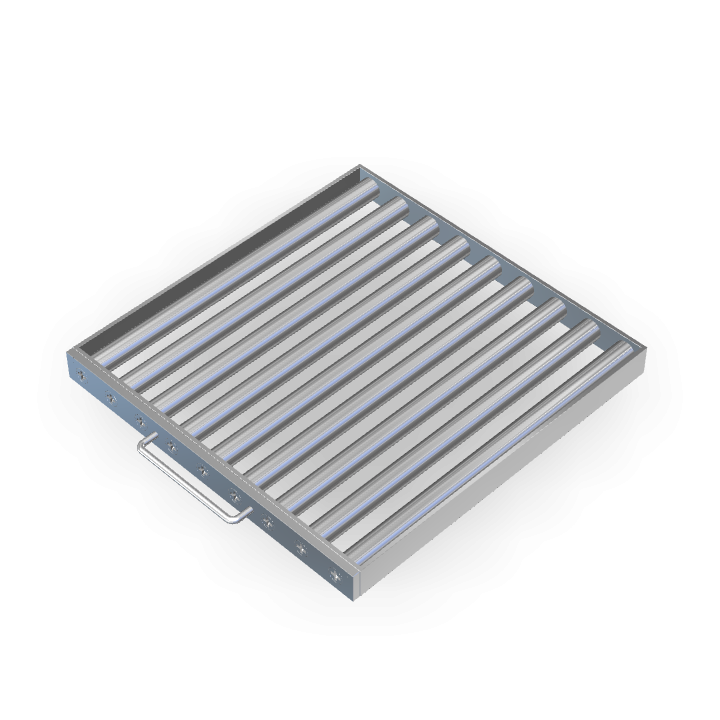 Magnetic Filter L450mmXW450mmXH40mm Frame/Sheath/Drawer
